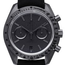 Omega Speedmaster Moonwatch Dark Side Black Black