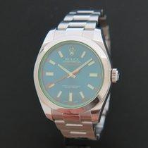 Rolex Oyster Perpetual Milgauss Blue