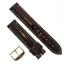 浪琴 (Longines) Cinturino Alligatore L682108692 Fg Marrone 18/18 Mm