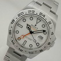 롤렉스 (Rolex) Explorer Ii 216570 Mens Steel 24hr Bezel White...