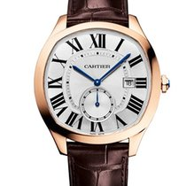 Cartier WGNM0003 Drive de Cartier in Rose Gold - On Brown...