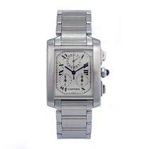 Cartier TANK FRANCAISE Chronoflex B&P ref. 2303