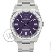 Rolex Oyster Perpetual 36 Red Grape New-Full Set