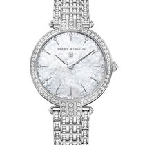 Harry Winston PRNQHM39WW003 Premier Ladies 39mm Quartz - White...