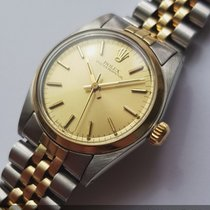 Rolex Perfect Rolex Oyster 30mm Steel Gold Ladies Lady 6748
