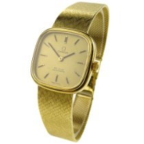 Omega De Ville Ladies Vintage 18k Gold Automatic Wristwatch