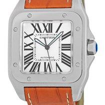 """Cartier """"Santos 100"""" XL Strapwatch."""