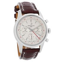 Breitling Transocean Mens Automatic Chrono Watch AB045112/G772...