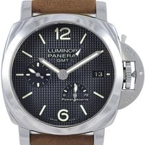 Panerai Luminor 1950 3 Days GMT Acciaio Automatic Men Watch...