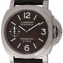 Panerai : Luminor Marina 8 Day :  PAM 564 :  Titanium manual...