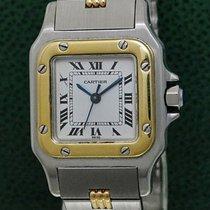 Cartier Santos De Cartier Lady Automatic 18k Gold Steel