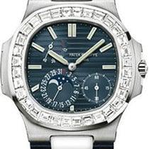 Patek Philippe Nautilus Calendar Diamonds WG