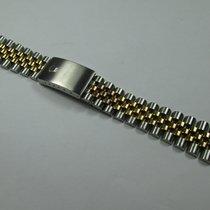 Rolex Gold Steel Bracciale /Bracelet Jubilee  20 mm
