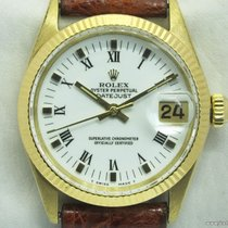 Rolex Vintage Datejust 6627 quadrante bianco Boy-Lady 31mm