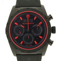 Tudor Black Shield M42000cr Ceramic, Rubber, 42mm