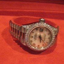 Ρολεξ (Rolex) 69159 Ladies 18k White Gold President Crown...