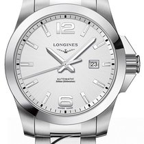Longines Conquest Automatic 43mm Silver Dial L37784766