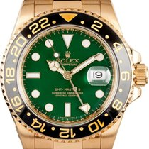 Rolex GMT Master 11-Green Dial