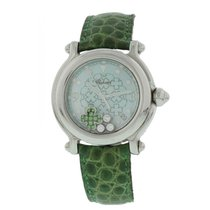 Chopard Happy Sport Diamond Emerald Good Luck Clover 28/8426
