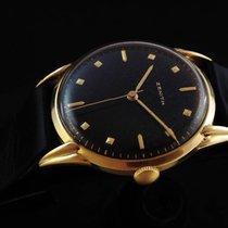 Zenith Vintage Mechanical 18k Gold 50's