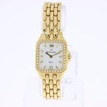 Maurice Lacroix Lady's Watch 18K Yellow Gold with Diamonds