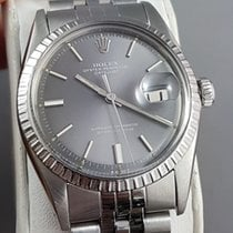 Rolex Datejust Grey steel dial with broad markers 1973 Jubilee
