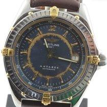 Breitling Antares Automatik Herren Uhr Stahl/gold B10048