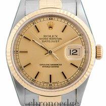 Rolex Datejust 36 Steel & Gold Jubilee 16233(Rolex...