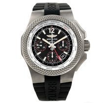 Breitling Bentley Gmt Light Body B04 Titanium Mens Watch...
