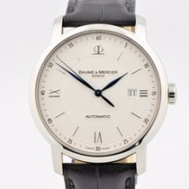 Baume & Mercier Men's  Classima Stainless Steel White...