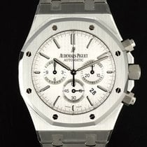 Audemars Piguet CHRONO 41 MM REF 26320ST WHITE DIAL