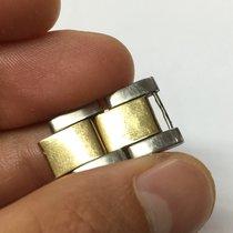 Rolex Maglia lucida ripiegata Link Strap acciaio steel oro gold