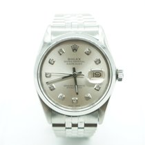 Rolex Datejust 36mm Stainless Steel Oyster Diamonds Dial Jubilee