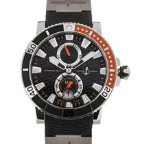 Ulysse Nardin Marine Diver 45 Automatic Power Reserve Black Dial