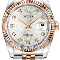 Rolex Datejust 36mm Stainless Steel and Rose Gold 116231...