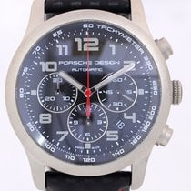 Porsche Design Dashboard Chronograph P6612 Titan 42mm Top B+P...
