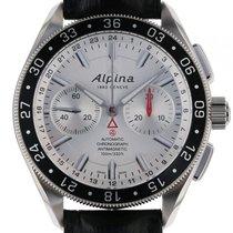 Alpina Alpiner 4 Chronograph Stahl Automatik Lederband 44mm
