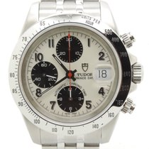 Tudor Prince Date Chronograph White Bianco Perfect Conditions