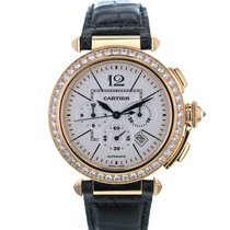 Cartier Pasha 2863 42mm 18k Rose Gold Men's