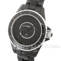 Chanel J12 Intense Black Ceramic 29MM Ladies Watch