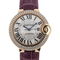Cartier Ballon Bleu 33 Automatic Gemstone