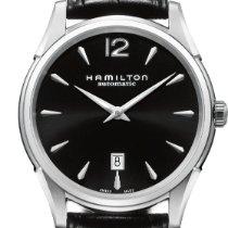 Hamilton Jazzmaster Slim H38615735 Elegante Herrenuhr Swiss Made