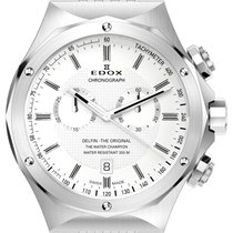 Edox .. Delfin Chronograph NEW FULL SET