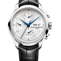 Baume & Mercier 10123 Clifton 43mm Automatic Chronograph...