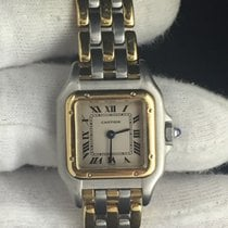 Cartier Panther Or et Acier gold quartz