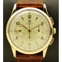 Omega | Vintage Chronograph, 18 Kt Rose Gold, Full Set