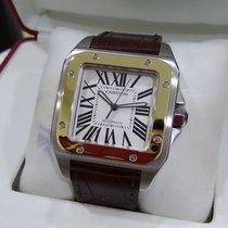 Cartier Santos 100 Large 2-tone Ref: W20072X7