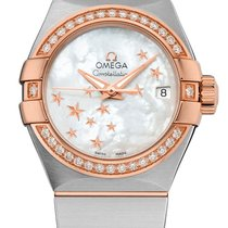 Omega Constellation Co-Axial Automatic Star 27mm 123.25.27.20....