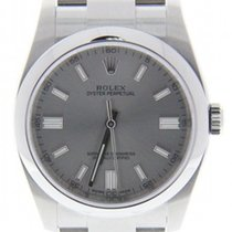 Rolex Oyster Perpetual No Date Swiss-automatic Mens Watch...