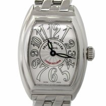 Franck Muller Conquistador 8005 LQZ Stainless Steel Watch with...